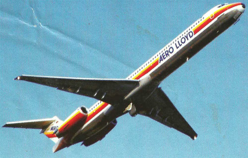 MD-83 von Aero Lloyd/Courtesy: Aero Lloyd