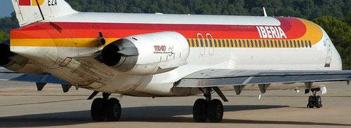 Das Fahrwerk einer MD-87/Courtesy: Alexander Portas