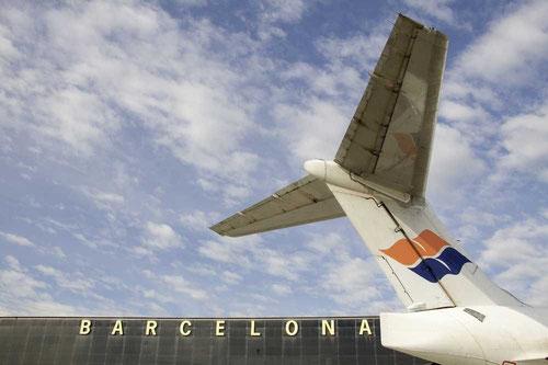 Leitwerk einer MD-80 der Spanair/Courtesy: Spanair