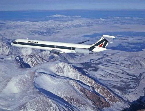 MD-82 von Alitalia/Courtesy: McDonnell Douglas