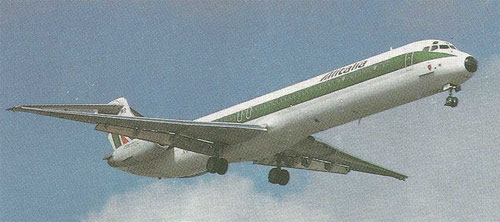 MD-82 der Alitalia/Courtesy: Alitalia