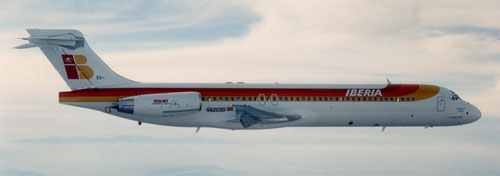 MD-87 von Iberia/Courtesy: Iberia