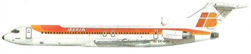Boeing 727 der Iberia/Courtesy: Iberia