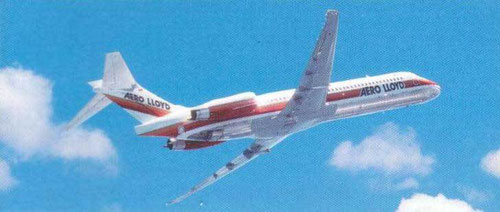 Einst mit der MD-87 von Aero Lloyd in den Urlaub/Courtesy: Aero Lloyd