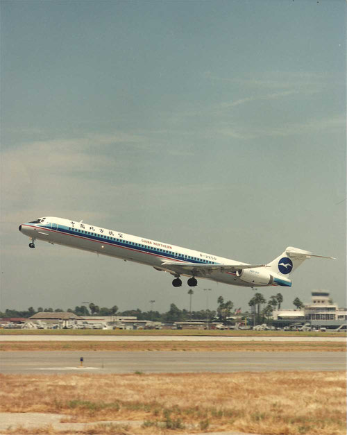 MD-90 der China Northern Airlines/Courtesy: McDonnell Douglas