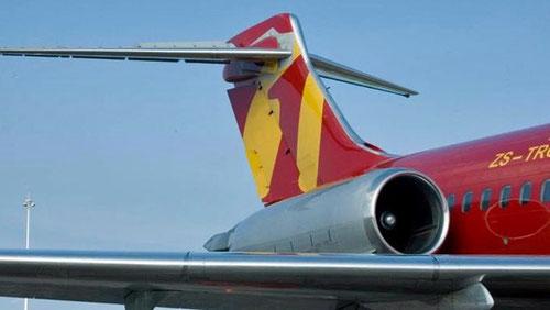 Leitwerk einer MD-87 von 1time/Courtesy: 1time