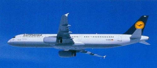 Lufthansa A321-100/Courtesy: Airbus