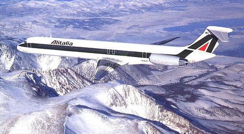 Super 80 von Alitalia/Courtesy: McDonnell Douglas