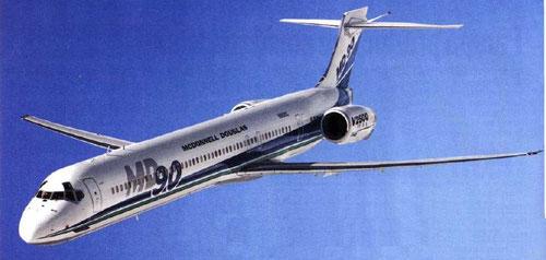 MD-90-Prototyp/Courtesy: McDonnell Douglas