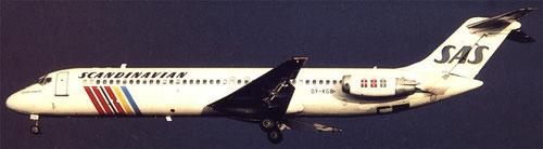 Douglas DC-9-41/Courtesy:SAS