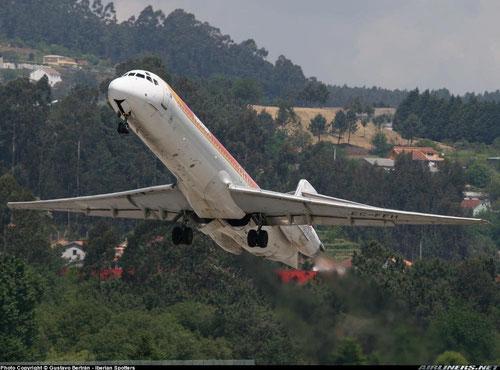 MD-87 von Iberia/Courtesy: Ander Aguirre
