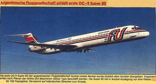 Schwestermaschine der abgestürzten MD-81