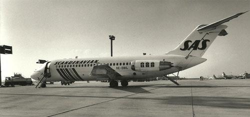 Douglas DC-9-21 der SAS/Privatsammlung