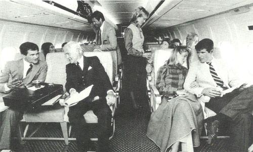 Service an Bord einer MD-80/Courtesy: Muse Air