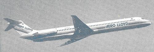 MD-83 im Farbkleid der Aero Lloyd/Courtesy: Aero Lloyd