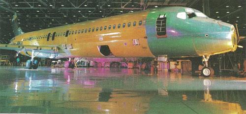 Die erste Boeing 717/Courtesy: Boeing