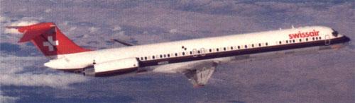 MD-81 der Swissair/Courtesy: McDonnell Douglas