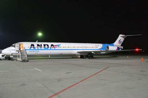 MD-80 der Anda Air/Courtesy: 747SP