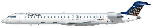 CRJ900 der eurowings/Courtesy: Eurowings