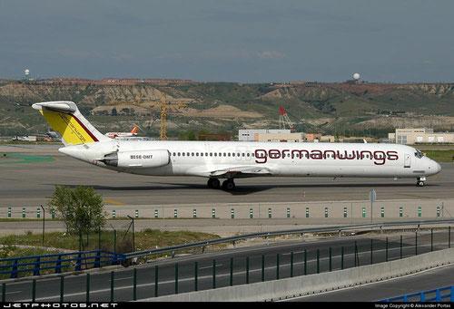 MD-81 im Einsatz für germanwings/Courtesy: Alexander Portas