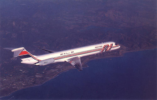 Austral sind 2012 der langjährigste Nutzer der MD-80-Serie/Courtesy: McDonnell Douglas
