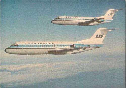 Fokker waren mit der Fokker F28 sehr erfolgreich in Schweden/Courtesy: Fokker