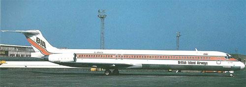 Die erste MD-83 der BIA/Courtesy: BIA