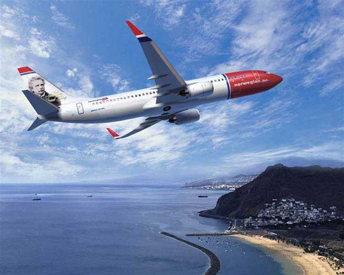 42 Boeing 737-800 wurden bestellt und die acht MD-80 der FlyNordic zügig ersetzt/Courtesy: Norwegian