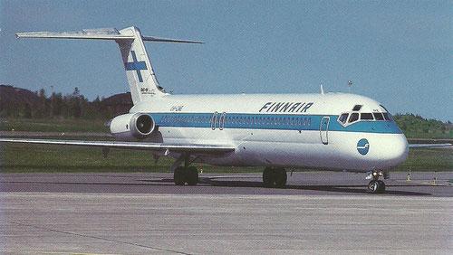 Die DC-9-40 war über viele Jahre ein vertrauter Anblick auf Inlandsflügen/Courtesy: Finnair