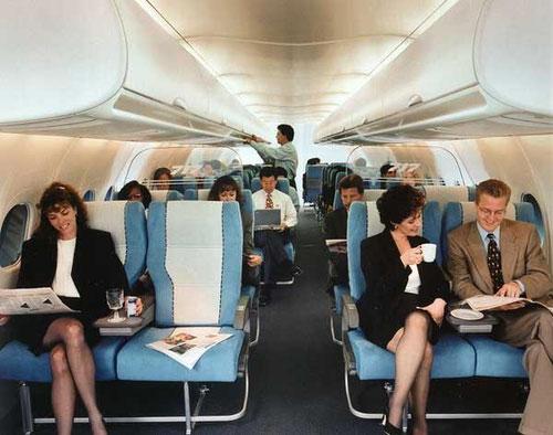 Boeing 717-Kabinenmodell/Courtesy: Boeing