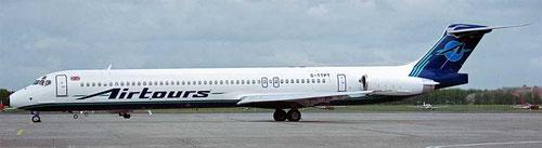 Die MD-83 wurde später das favorisierte Modell für Charterunternehmen/Courtesy: David van Maaren