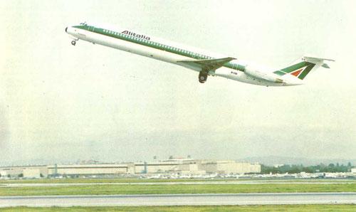 Größter Abnehmer von fabrikneuen MD-82 außerhalb der USA - Alitalia!/Courtesy: McDonnell Douglas