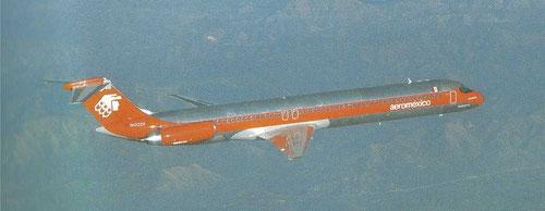 MD-82 der aeromexico/Courtesy: McDonnell Douglas
