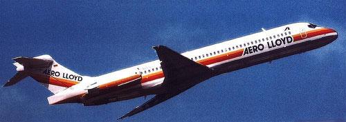 Auf zu einem weiteren Urlauberflug mit einer MD-87!/Courtesy: Aero Lloyd