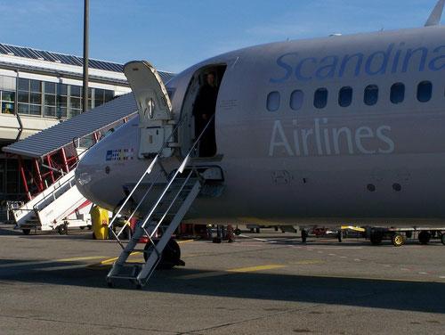 Sehr bald Vergangenheit - eine MD-80 der SAS/Courtesy: Rene Kaminski