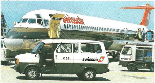 MD-81 der Swissair/Courtesy: Swissair