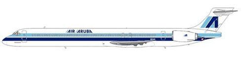 Air Aruba MD90-30/Courtesy: md80design