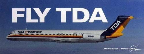 Die MD-81 war kapazitätsseitig das optimale Modell unterhalb der A300/Courtesy: McDonnell Douglas