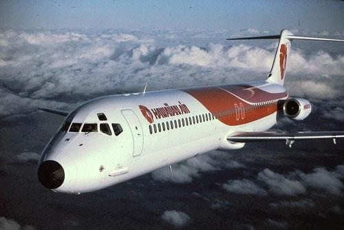 Hawaiian Air führten 1975 ihre erste DC-9-51 ein und im Jahr 2015 sind es 18 Boeing 717! Courtesy: Hawaiian Air