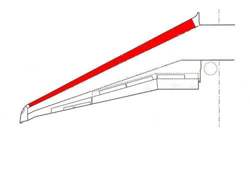 Die Vorflügel werden hier in roter Farbe angedeutet