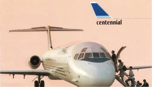 Courtesy: Centennial Airlines