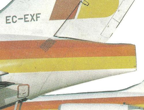 Heckkonus einer MD-87/Courtesy: Iberia