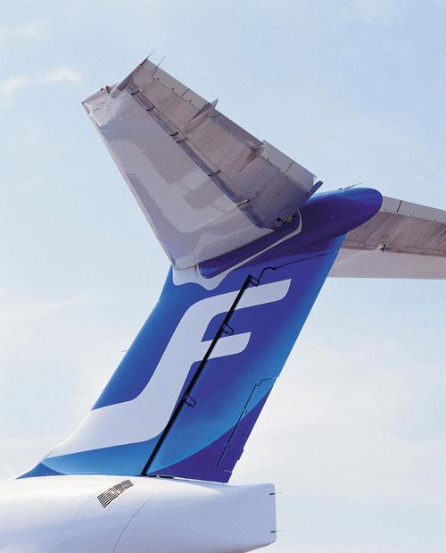 Heckleitwerk einer MD-80 der Finnair/Courtesy: Finnair
