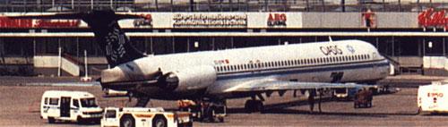 Oasis MD-83/Zeitungsausschnitt