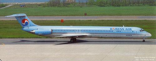 Eine MD-80 mit altem Heckkonus/Courtesy. Jun (AJ) Shidara