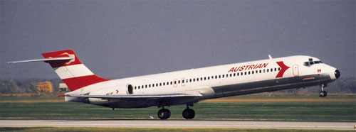 MD-87/Courtesy: Austrian Airlines