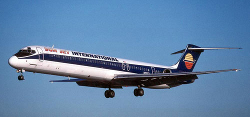 Die MD-81 N818SJ/Courtesy: Michael Carter