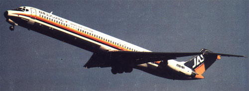 Japan Air System MD-81/Courtesy: Japan Air System