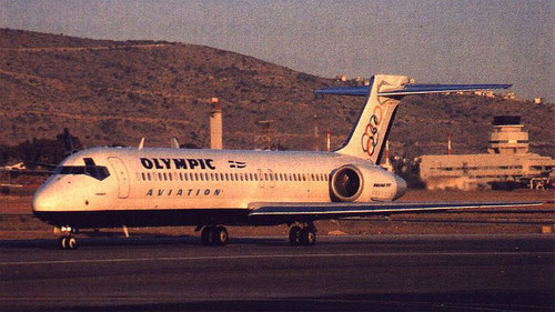 Olympic Aviation setzten drei Boeing 717 ein/Courtesy: Olympic Aviation