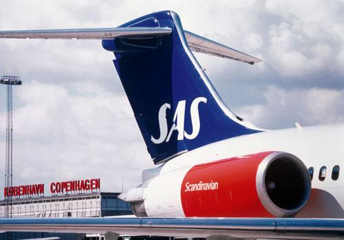 Nur noch selten bei SAS anzutreffen: die MD-80/Courtesy: SAS Scandinavian Airlines